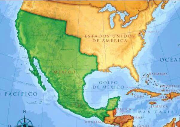 Breaking News Mexico Has Agreed To Pay For Trumps Border Wall - Us border wall map north america map