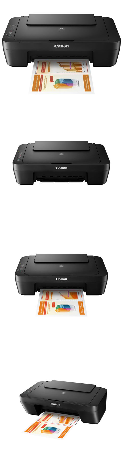 Computers Canon Pixma Mg2525 Inkjet All In One Color Photo Printer