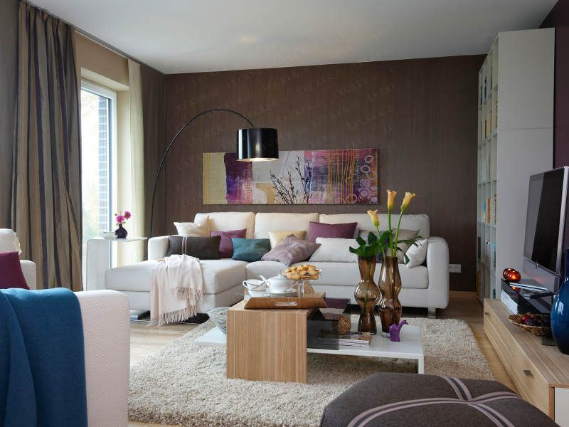 wohnzimmer im wohnidee-haus 2010 - wohnidee.de | anregungen, Wohnideen design