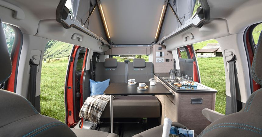 citroen spacetourer rip curl all wheel drive camper with a shower and a kitchen camper. Black Bedroom Furniture Sets. Home Design Ideas