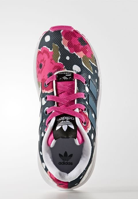 the latest d149f b30bc adidas Originals ZX FLUX - Trainers - shock pinkcore blackshock purple  for £28.00 (191216) with free delivery at Zalando