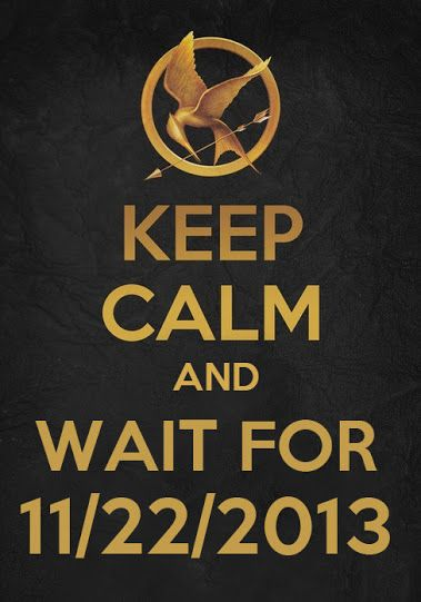 Keep Calm and Wait For 11/22/2013 #CatchingFire