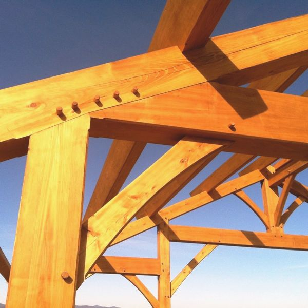 Wood Beam Construction ~ Timber frame construction details http timberframehq