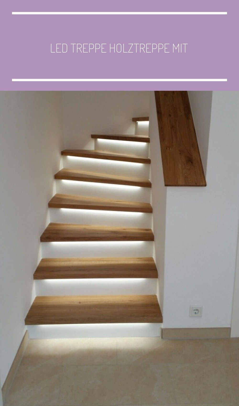 Led Treppe Holztreppe Mit Beleuchtung Renovierung Haus Ideen Flur Beleuchtung Flur Haus Holztreppe Ideen Led Mit Renovie In 2020 Stairs Home Wooden Staircases