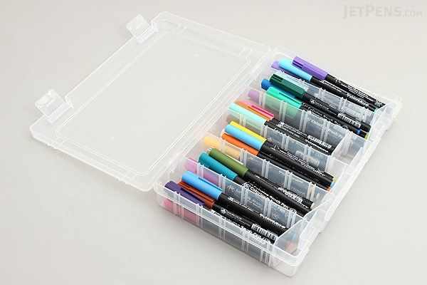 Sakura Koi Coloring Brush Pen - 48 Color Set - SAKURA XBR-48SA ...