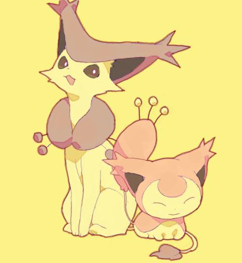 delcatty + skitty | Pokémon | Pinterest