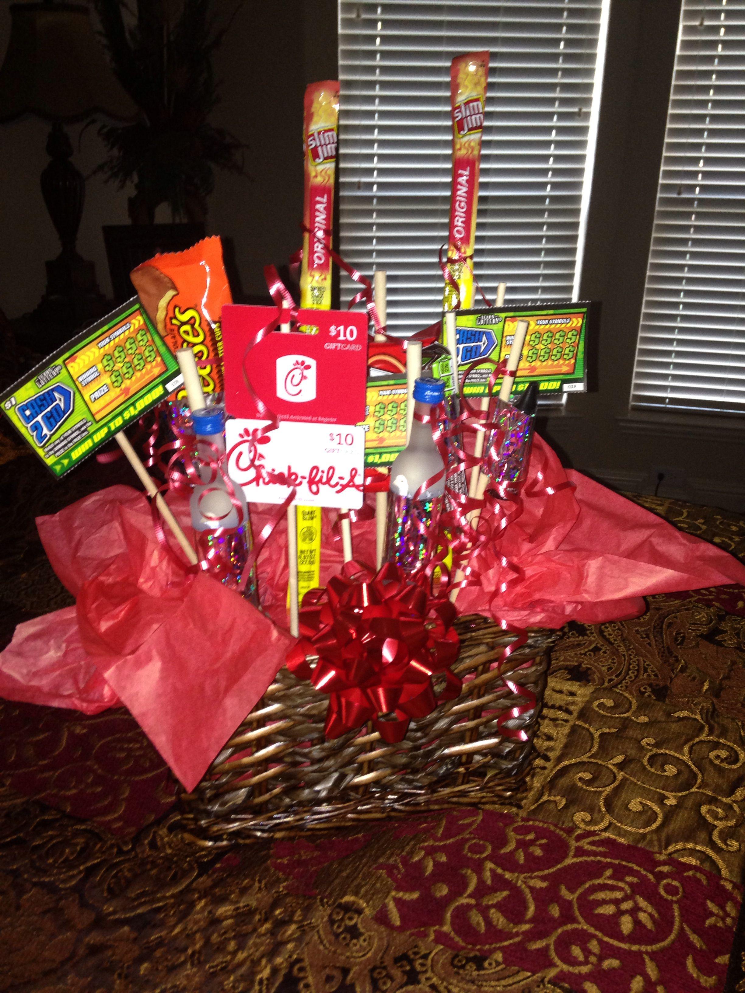 Pin By Squirrelycraft On Boyfriend Things Goodie Basket Boyfriend Birthday Boyfriends Birthday Ideas