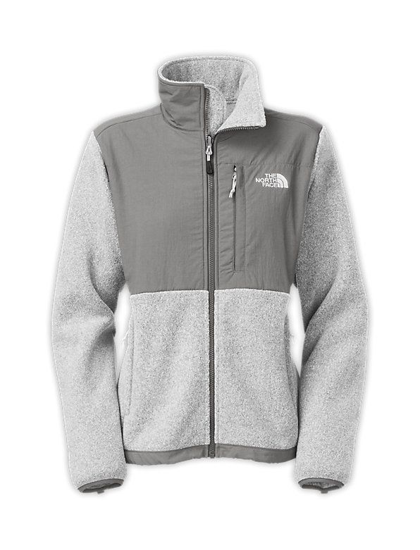 a66a0c3b7 Women's denali jacket | My Style | Grey north face jacket, North ...