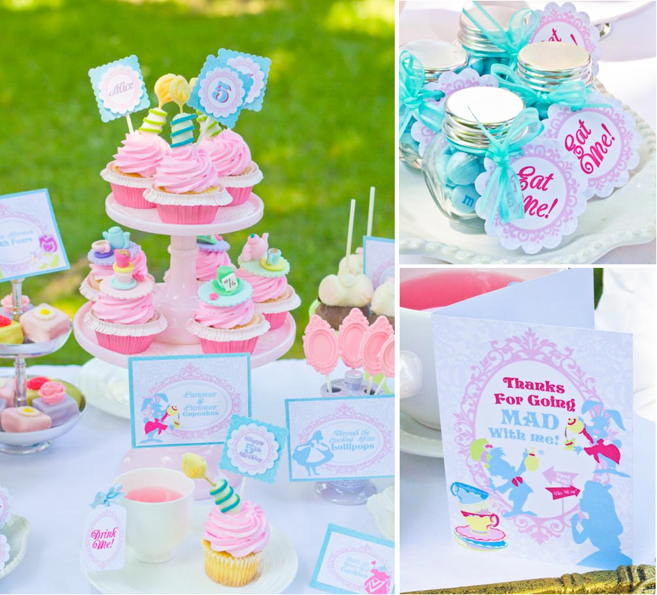 Mad hatter tea party decoration ideas - Whimsical Alice In Wonderland Mad Hatter Tea Party Girl Birthday Theme Omg Seriously The Cutest Thing I Ve Ever Seen Who Wants Me To Throw Them A Baby