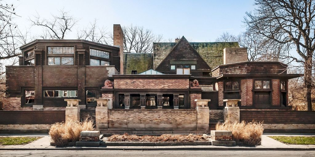 Frank Lloyd Wright Home And Studio 1889 951 Chicago Avenue Oak Park
