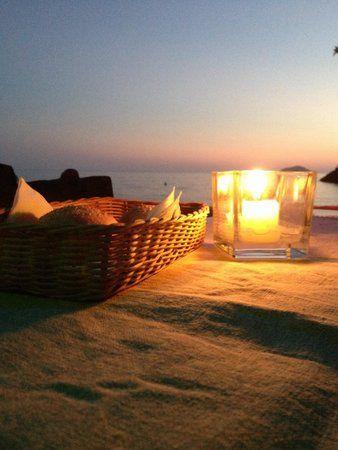 Cena a lume di candela..!! Eco del Mare, Lerici