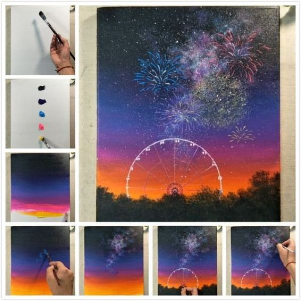38 Easy Step-by-Step Painting Tutorials for Beginners – HERCOTTAGE
