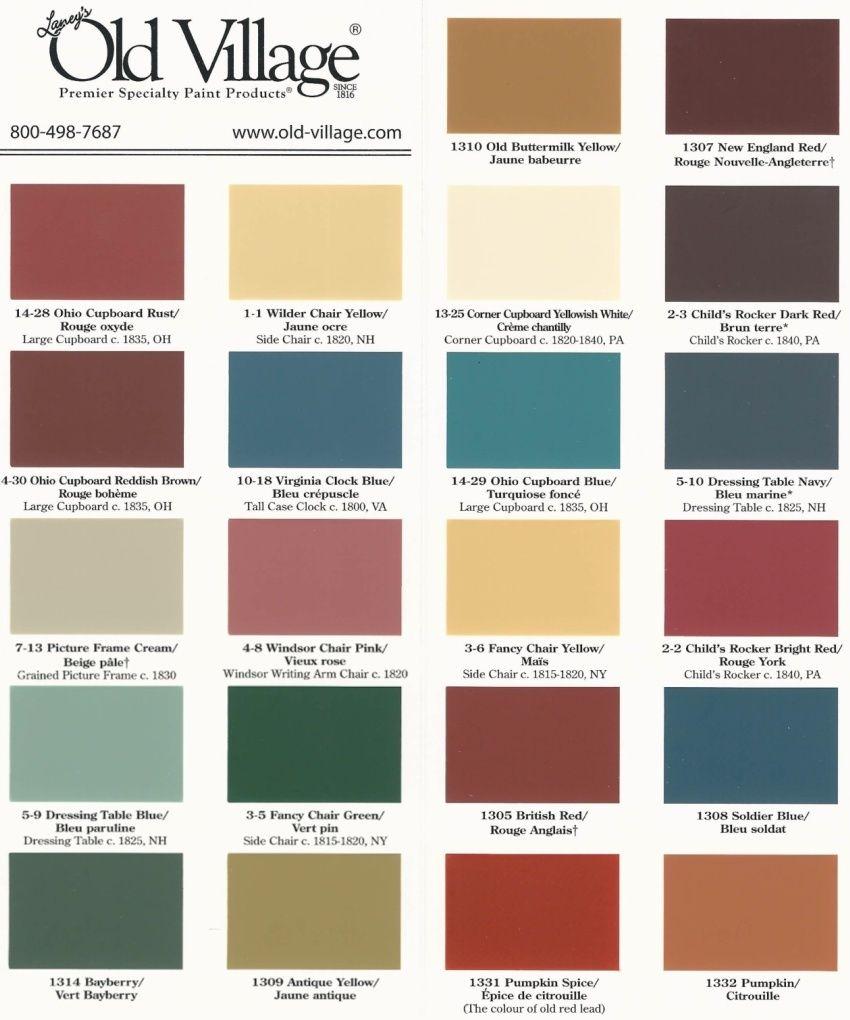 Buttermilk Paint Reproduction Colours Paint Primitive