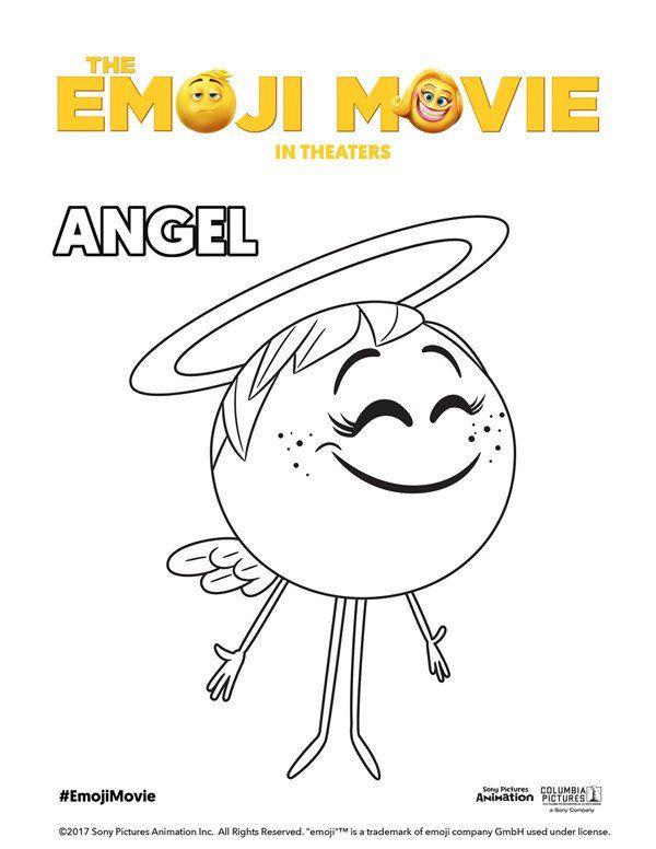 Free Emoji Coloring Pages Printable Emoji Movie Coloring Pages Theemojimovie Emoji Coloring Pages Emoji Movie Coloring Pages