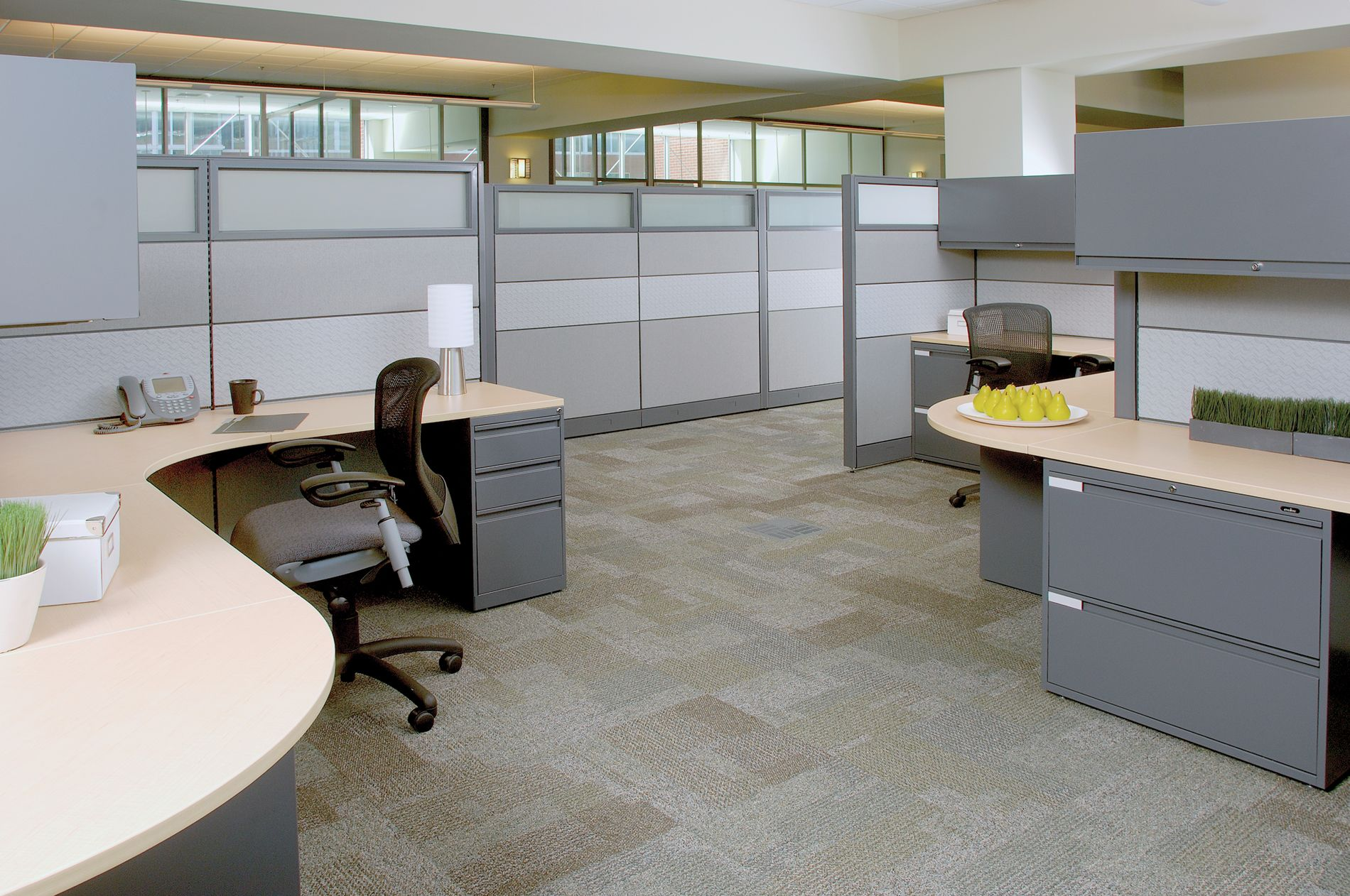 Cubicle Installation pictures from Boca Office Furniture located ...