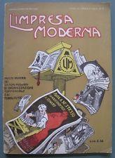 Numero 3 del 1920 della rivista L'IMPRESA MODERNA