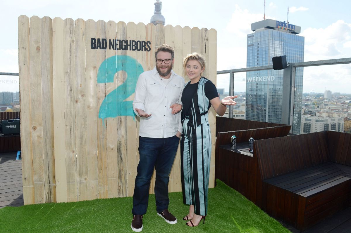 CHLOE MORETZ at 'Bad Neighbors 2' Social Movie Night in Berlin 04/26/2016