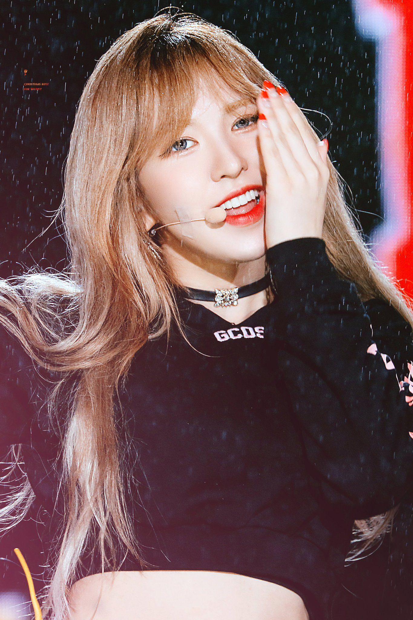 180204 Red Velvet Inkigayo. | Red velvet, Wendy red velvet