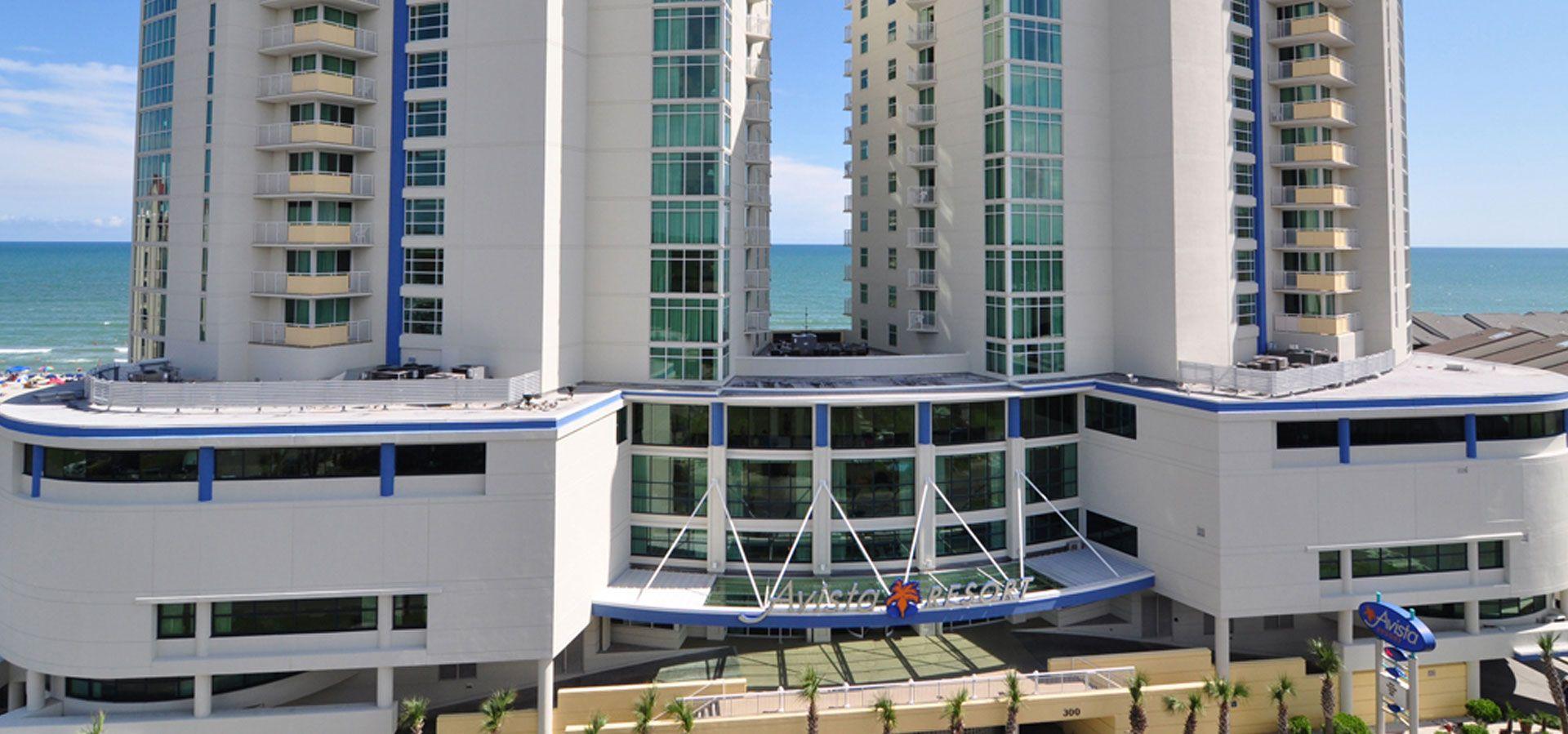 North Myrtle Beach Resorts The Avista Resort South Carolina