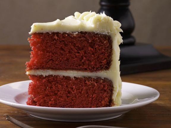 Roter Samtkuchen Red Velvet Cake Rezept Sweet Things Cake