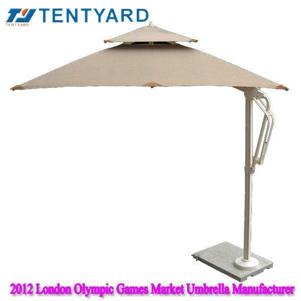Patio Square Beige Offset Umbrella ,square Offset Umbrella, Square Patio  Umbrella, Square Umbrella