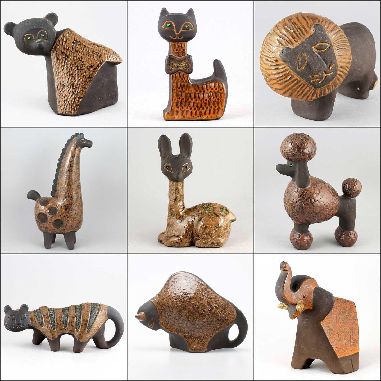 カール・エリック・アイバーの動物たちについて | 陶芸, オブジェ, 動物