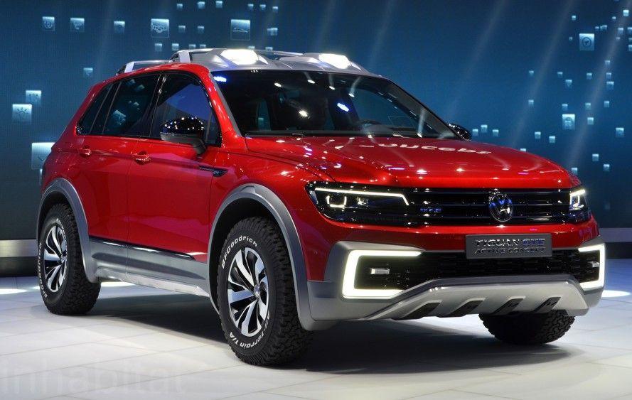 Volkswagen Tiguan Gte Active Vw 2016 Detroit Auto Show Naias Electric Vehicles Green Cars