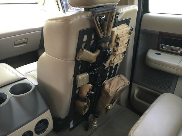 grey man tactical rigid molle panel rip m vehicle seat. Black Bedroom Furniture Sets. Home Design Ideas