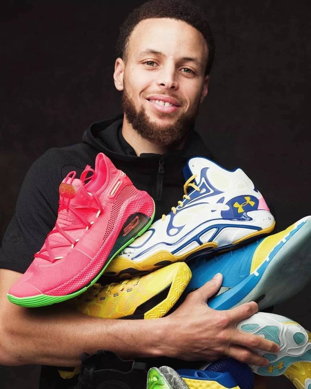 Image May Contain One Or More People And Beard Stephen Curry