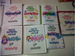 Resultado de imagen para marcar cuadernos timoteo - Decoraciones gramar ...