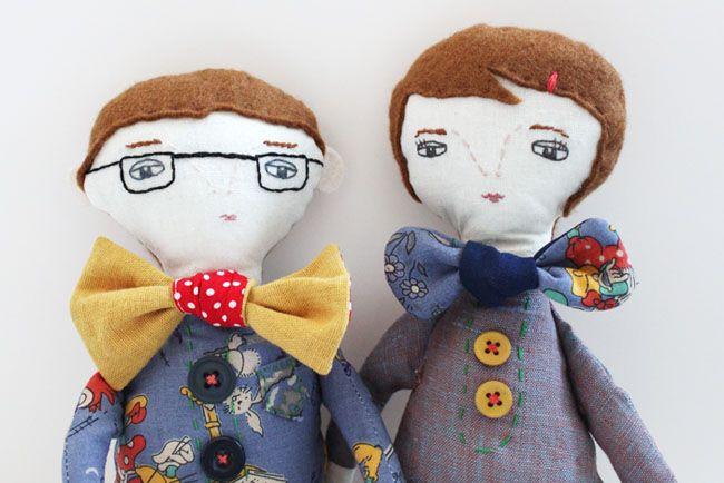Evie's (Handmade Romance) dolls - NeedleWork/NeedlePlay