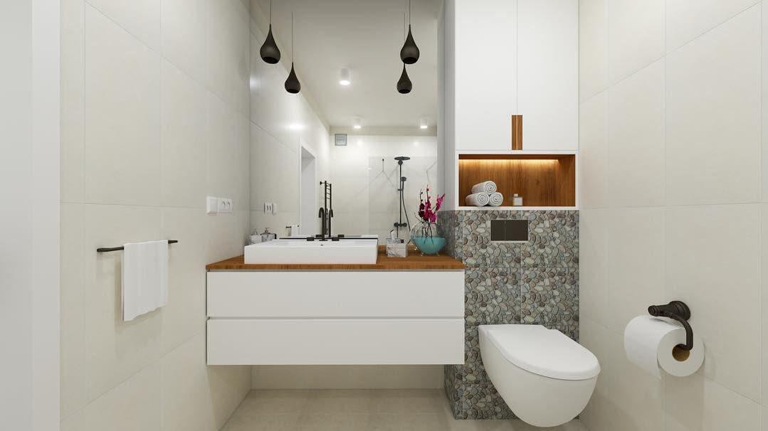 łazienka Gdzie Głowna Rolę Gra Duży Prysznic Z Odpływem