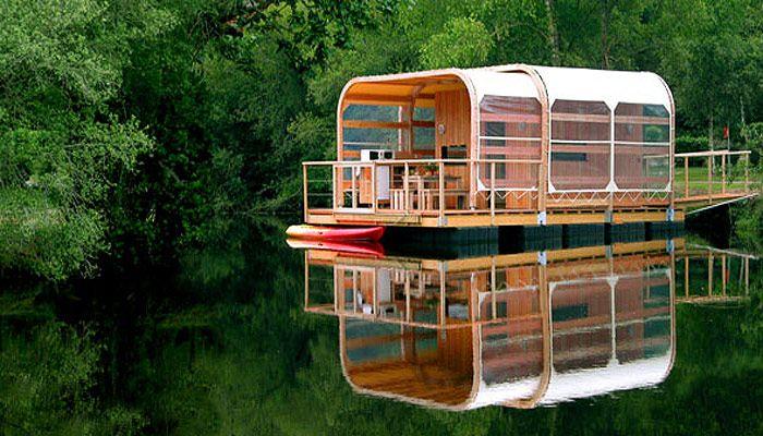 Assez http://www.les-cabanes.com/IMG/jpg/habitat-flottant.jpg | Cabanes  KM44