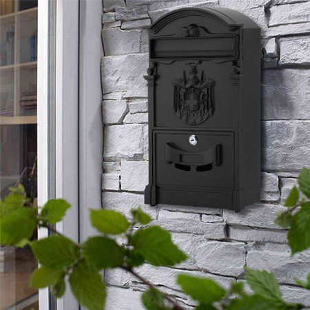 Classic Style Outdoor Garden Security Lockable Wall Mounted Secure
