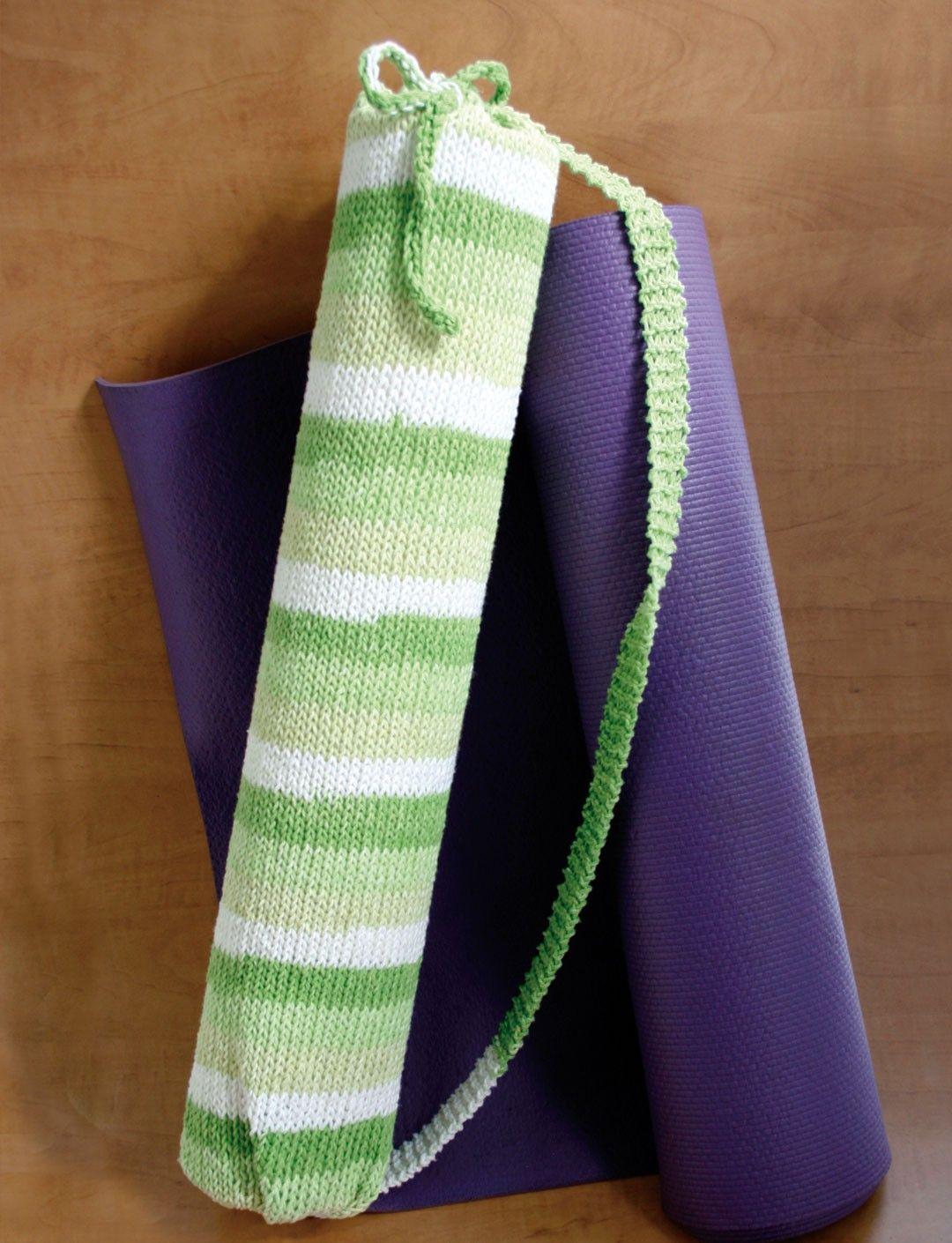 Yarnspirations.com - Lily Stripes Yoga Bag - Patterns ...