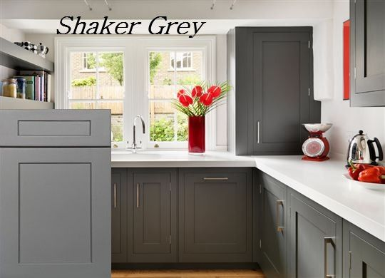 Image Result For Light Grey Shaker Kitchen Cabinets Kitchen - Light grey shaker cabinets