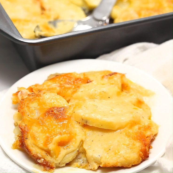 Photo of The BEST Cheesy Scalloped Potatoes – I Heart Naptime