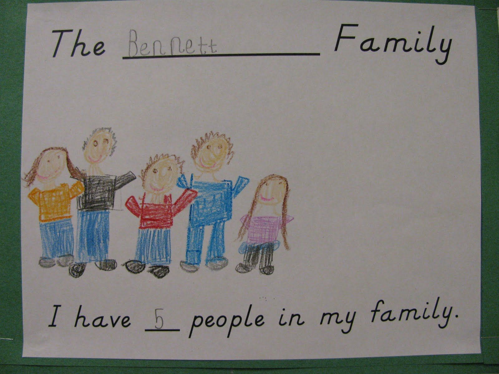Family Bulletin Boards For Preschool