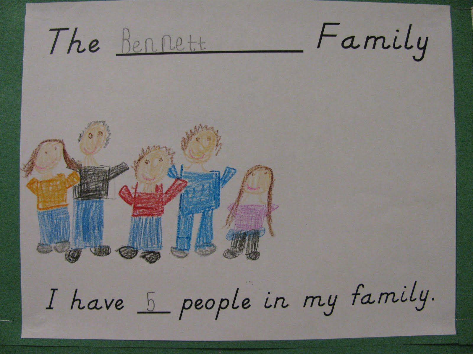 Family Bulletin Boards For Preschool