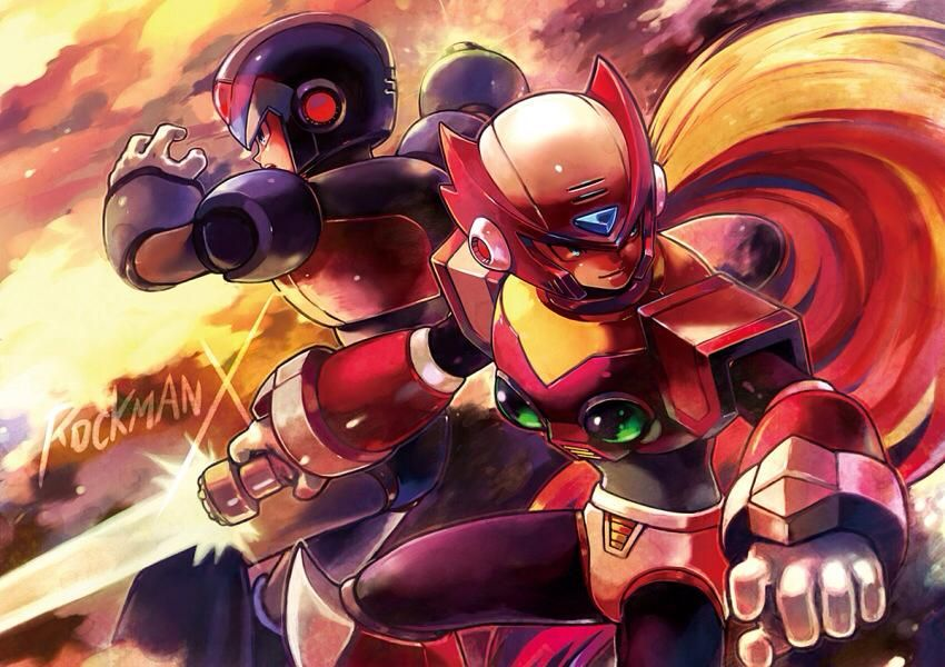 Rockman X 1560112 Zerochan Mega Man Art Anime Megaman Series