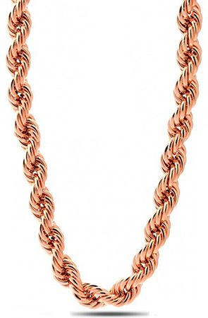 10mm Run Dmc Rose Gold Dookie Rope Chain By King Ice Get 25 Off Using Repcode Fairmont At Www Karmaloop Com Men Christmas Gift Jewelry Jewelry Gift Necklace
