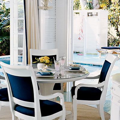 dining rooms with a coastal touch discover more ideas about blue fabric formal dining rooms. Black Bedroom Furniture Sets. Home Design Ideas