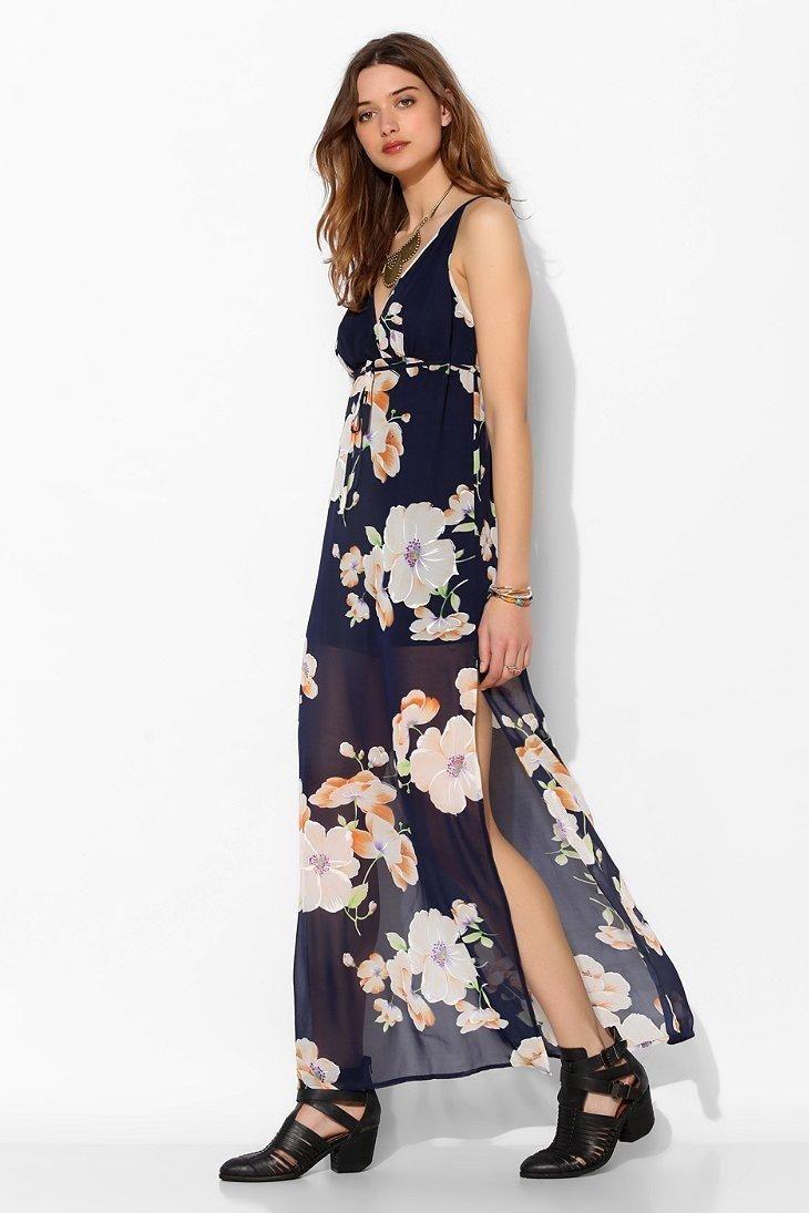 ad5512c4cb4e Reverse Sweet Home Floral Maxi Dress | vestidos largos informales ...