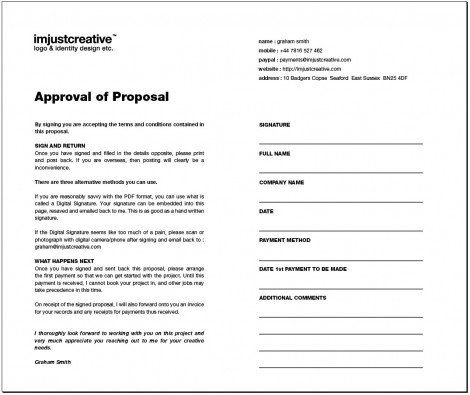 marketing creative brief - Google Search Marketing forms Pinterest - graphic design proposal example