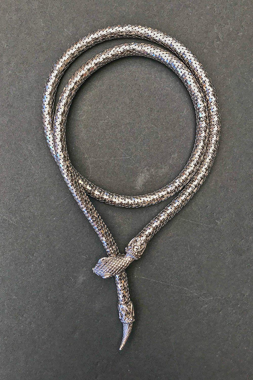 The serpent vintage snake choker u backbite adornaments
