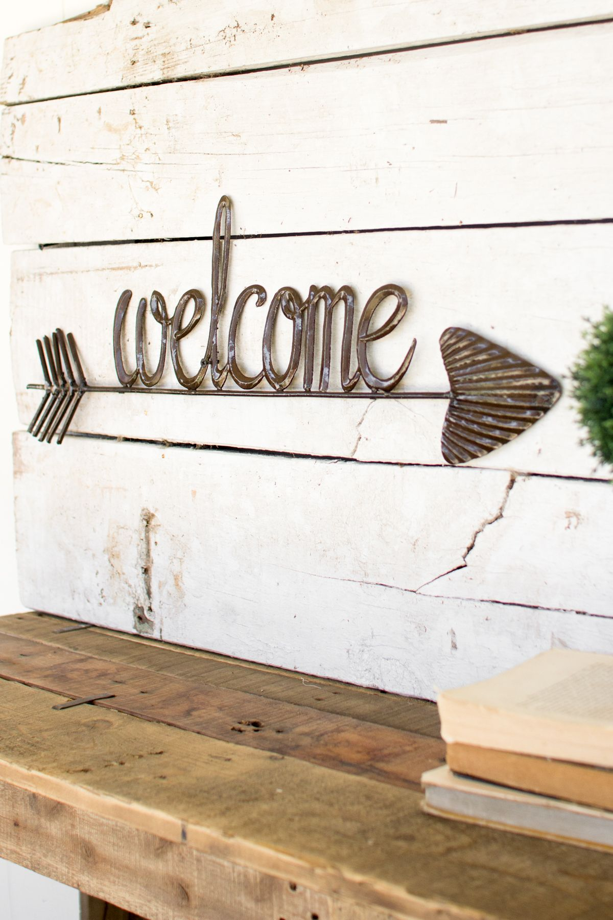 Welcome Sign With Arrow | farmhouse decor | Pinterest | Sweet trees ...