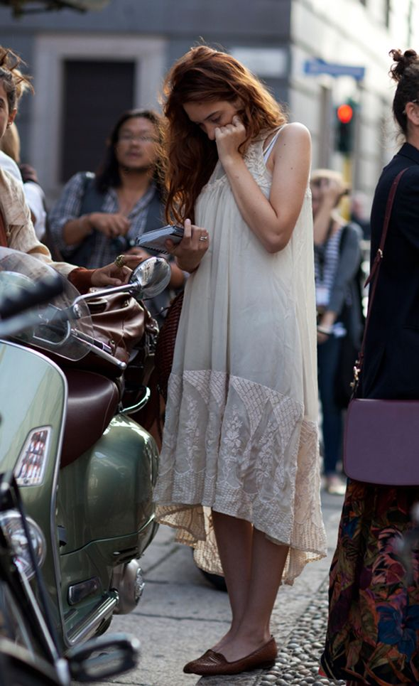 Summer dress & loafers