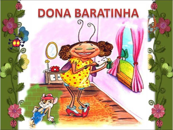 Dona Baratinha Em 2020 Aula De Portugues Livros De Historias