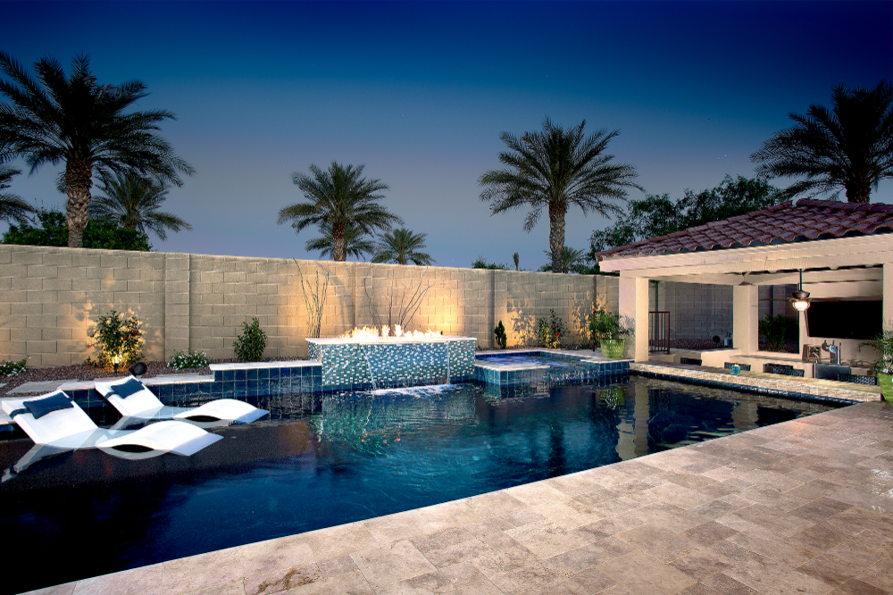 Geometric Swimming Pool Designs Presidential Pools Spas Patio Of Arizona Presidential Pools Arizona Backyard Pool Designs