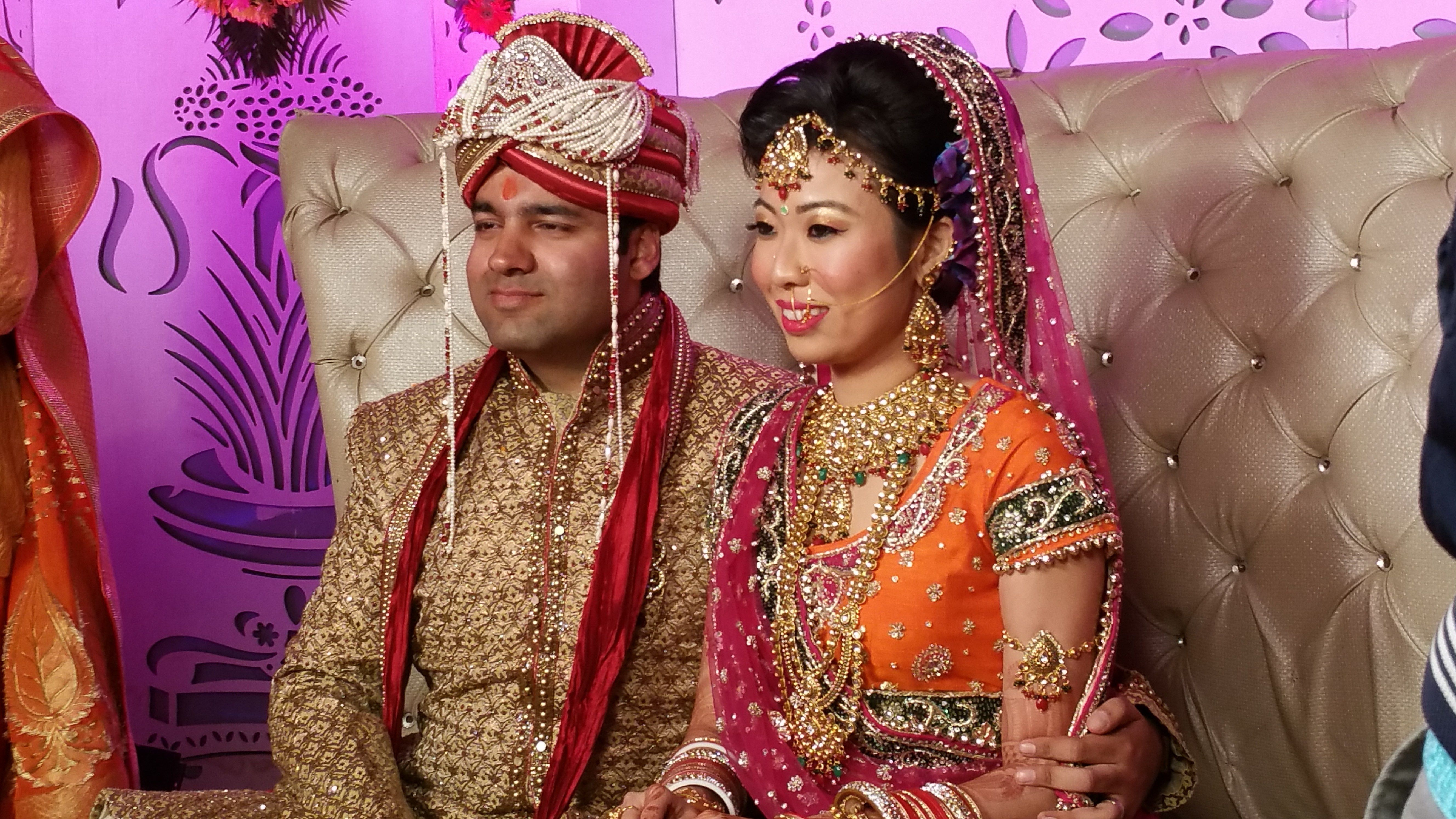 I attended a Punjabi-Chinese wedding in the heartland of Haryana and ...